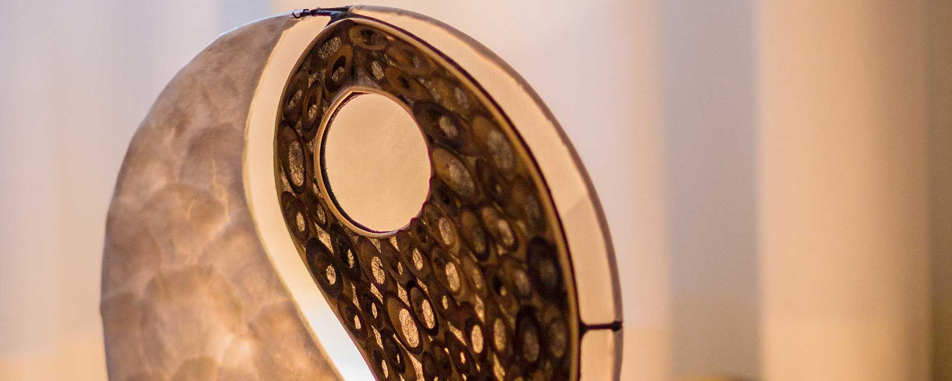 Lampe in Raum für Physiokey Chemnitz